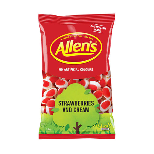 Allens Strawberries & Cream 1.3kg