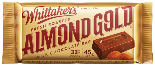 Whittakers Almond Slab 45g