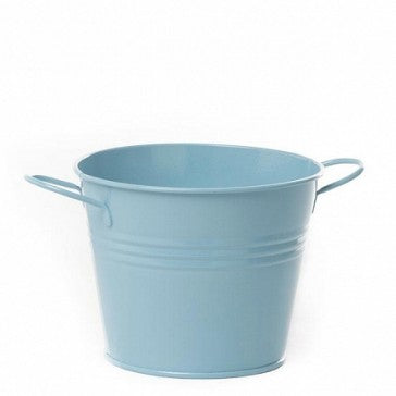Tin Buckets Baby Blue