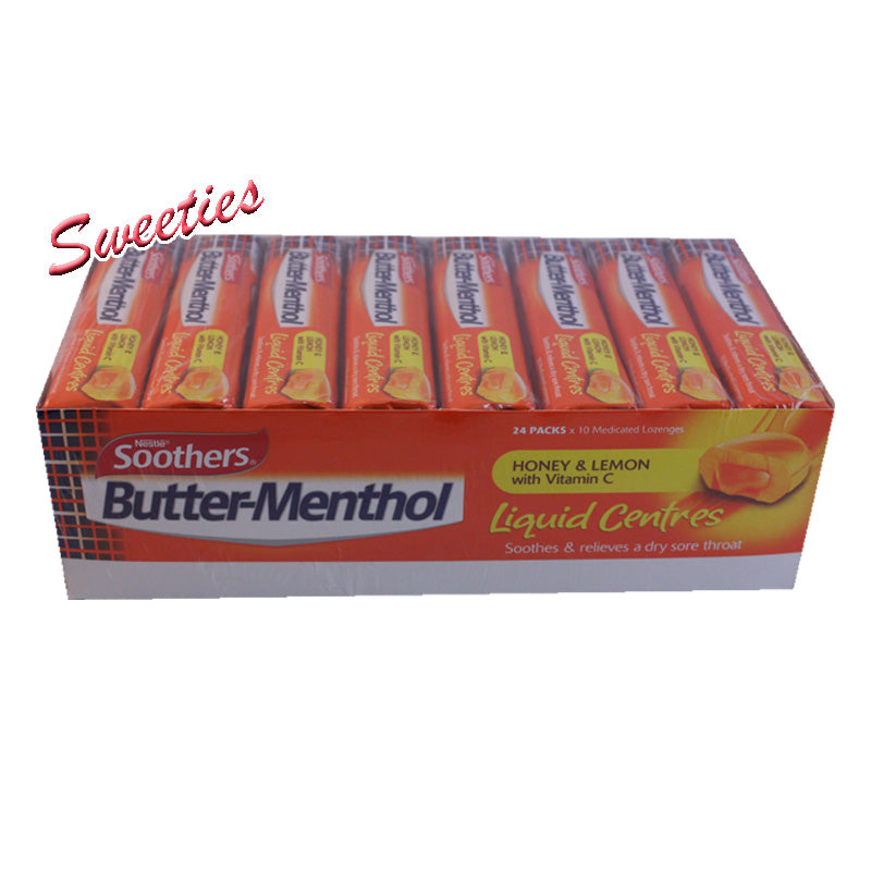 Butter Menthol Liquid - Honey & Lemon Stick 10 Loz