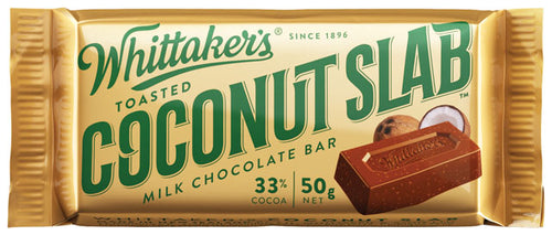 Whittakers Coconut slab 50g