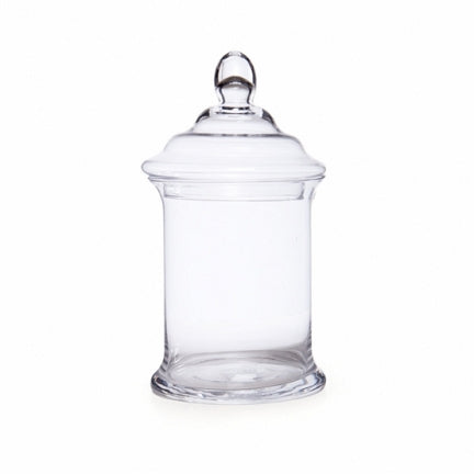 Glass Candy Jar GJ0013 (Pick Up Instore Only)