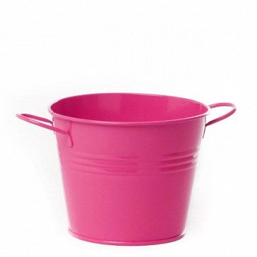 Tin Buckets Hot Pink
