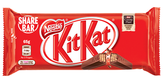 Kit Kat 4 Finger Share Bar 65g