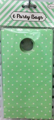 Party Bag Green 6pk