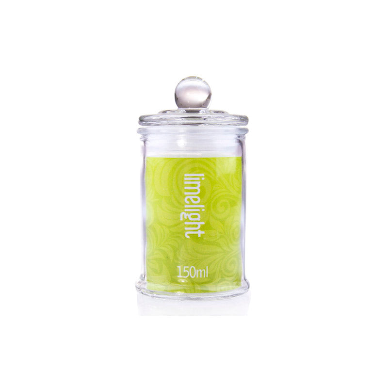 Glass Jar Limelight 150ml (Pick Up Instore Only)