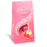 Lindor Bag Strawberries & Cream 125g
