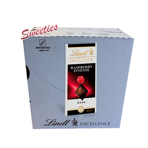 Lindt Excellence Raspberry Intense Dark 100g