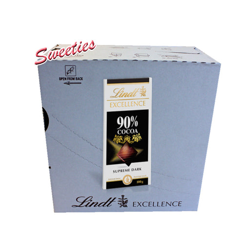 Lindt Excellence Supreme Dark 90% 100g