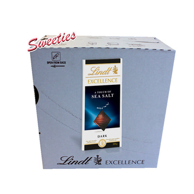 Lindt Excellence A Touch Of Sea Salt Dark 100g