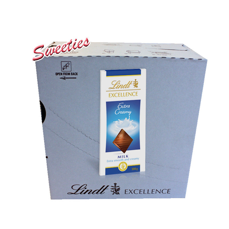 Lindt Excellence Extra Creamy Milk 100g
