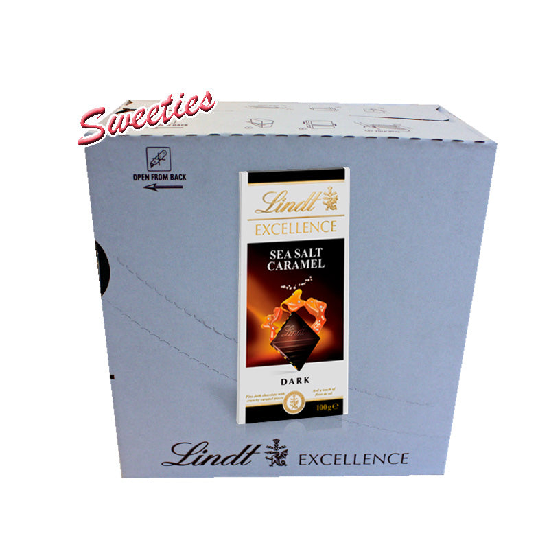 Lindt Excellence Sea Salt Caramel 100g My Sweeties