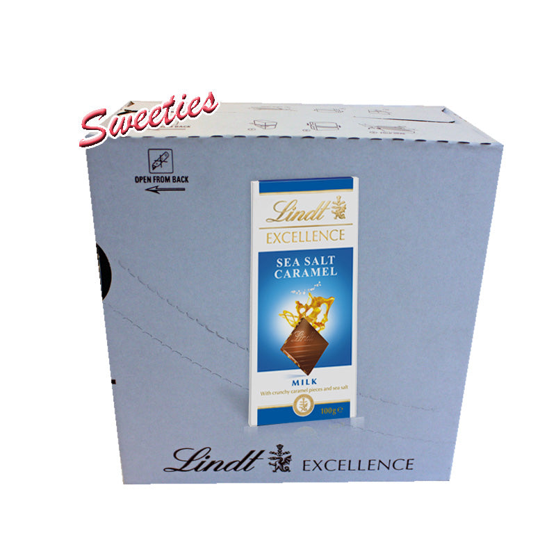 Lindt Excellence Milk Sea Salt Caramel 100g