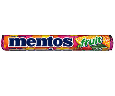 Mentos Roll Fruit 37.5g