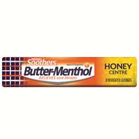 Butter Menthol Honey Centre Stick 10 Loz