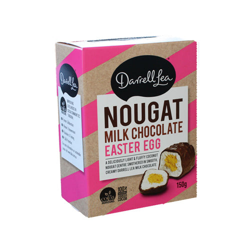 Darrell Lea Nougat Easter Egg 150g Pink (Limited Stock)