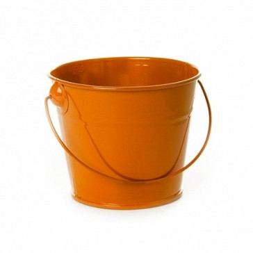 Tin Buckets Orange