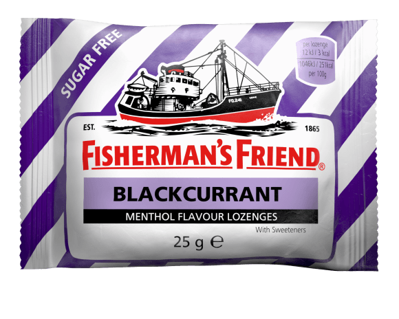 Fisherman's Friend Blackcurrant 99% Sugar Free 25g