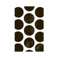 Paper Party Bags Black Polka Dots (11cmWx18cmH) 10 Pack