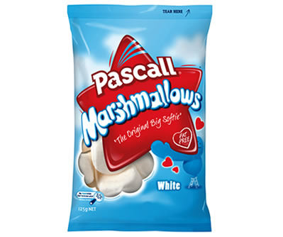 Pascall Vanilla Marshmallows 125g