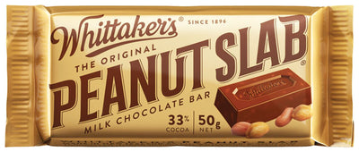 Whittakers Peanut Slab 50g
