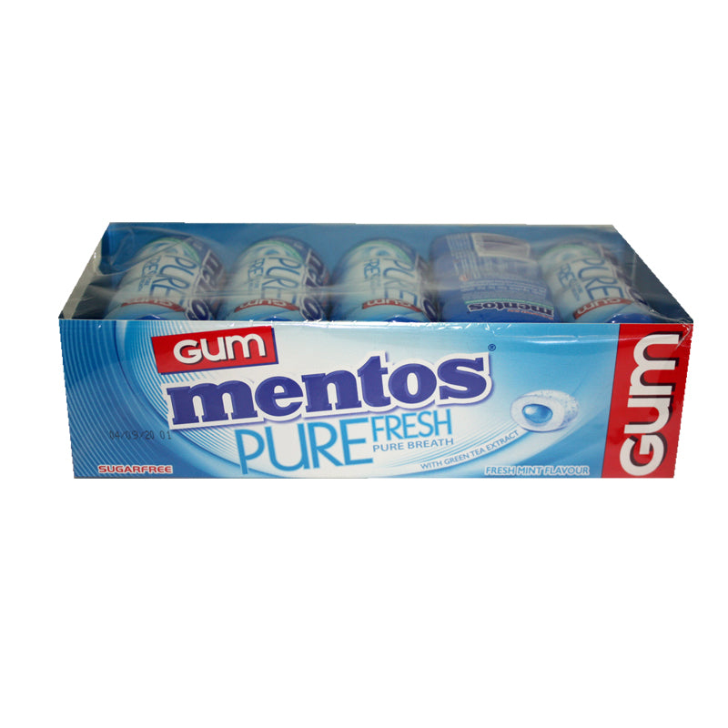 Mentos Pure Fresh Mint Gum 30g