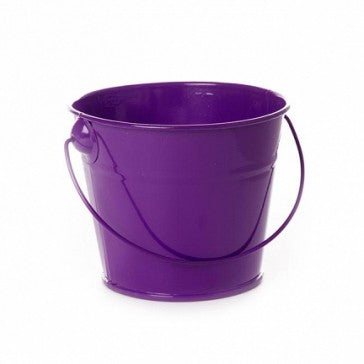 Tin Buckets Purple
