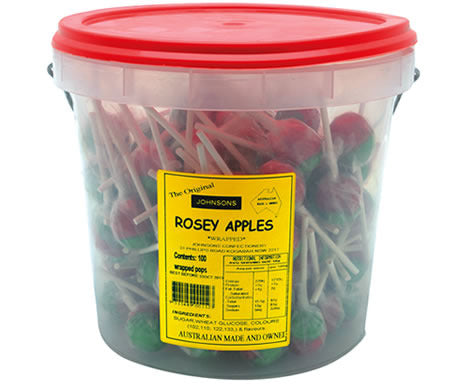 Rosey Apple Pops 16g - 100 Units
