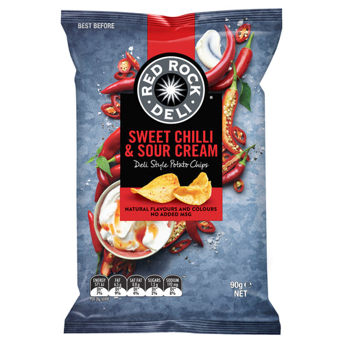Red Rock Sweet Chilli & Sour Cream 90g