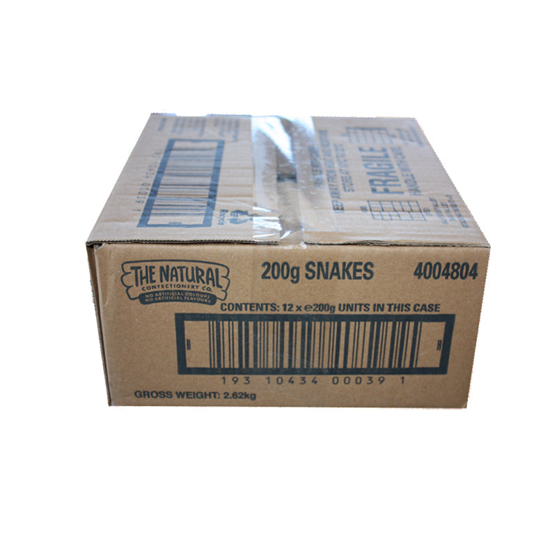 The Natural Confectionery Co. Snakes 200g