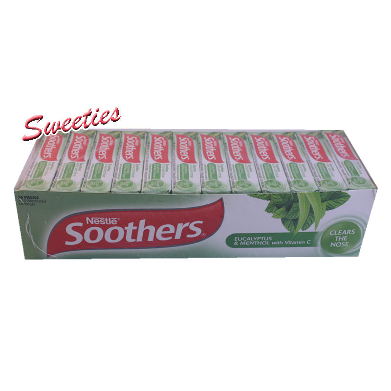 Soothers Eucalyptus & Menthol Stick 10 Loz