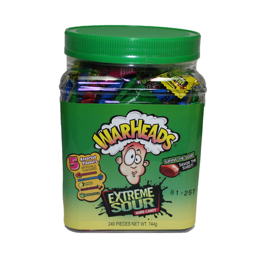 Warheads Extreme Sour Assorted 10g - 240pcs