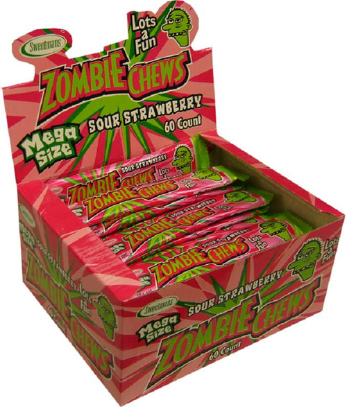 Zombie Chew Strawberry 28g