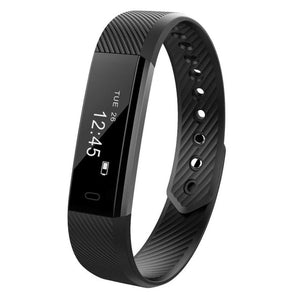 ID115HR Smart Bracelet Waterproof Sport Watch Heart Rate Monitor Sleep Tracking Wristband Bluetooth Fitness Watch for Men/Women