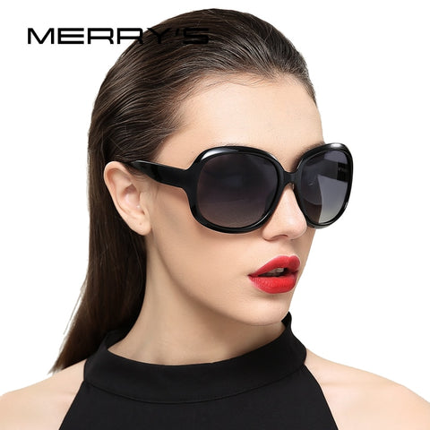 MERRY'S DESIGN Women Retro Polarized Sunglasses Lady Driving Sun Glasses 100% UV Protection