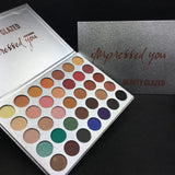 35 Colors Eye Shadow Palette Easy to Wear Nude