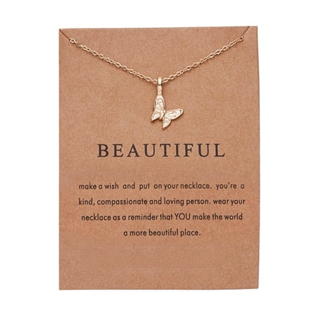 Fashion Elegant  Vintage Necklace Pendant Charm Women Friend Gift