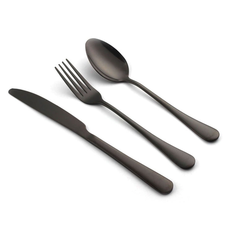 BLACK UTENSILS KIT