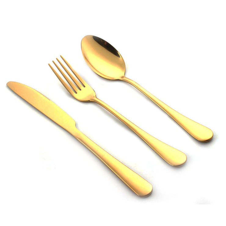 GOLD UTENSILS KIT