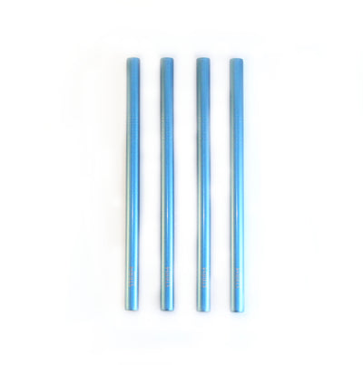 SHINNY BLUE SMOOTHIE STRAWS KIT
