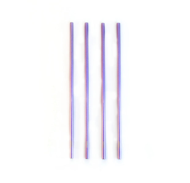 SHINNY PURPLE STRAWS KIT