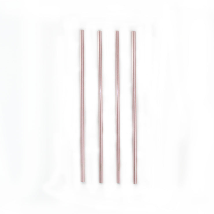 SHINNY ROSE GOLD STRAWS KIT