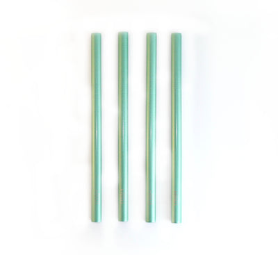 SHINNY GREEN SMOOTHIE STRAWS KIT