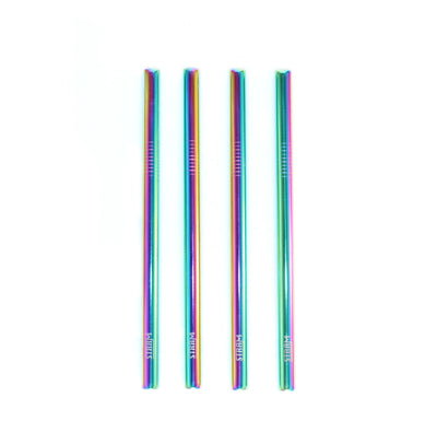 RAINBOW SMOOTHIE STRAWS KIT - Stram Straws