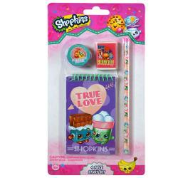 Shopkins 4pk Study Kit on Blister Card