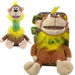 "Mimic Mees Talk Back Zoo 12"" Monkey in Box "" As Seen On TV"""
