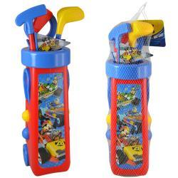 Mickey and the Roadster Racers Golf with Caddy and 3 Golf Clubs in Net Bag