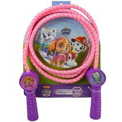 Paw Patrol- Skye Deluxe Jump Rope with Shaped Handles in 3D Blister