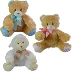 "My First Bear 8"" Assorted Colors Plush"