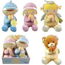 Blessed Friends Prayer Plush Dolls 6 Asstd.